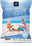 Best for Garden 25kg Spielsand Quarzsand für Sandboxen Sandkasten Dekosand TÜV geprüft TOP Qualität (50 kg)