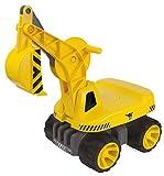 BIG Spielwarenfabrik 800055811 BIG-Power-Worker Maxi-Digger, gelb