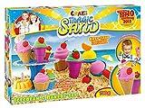 Craze 54179 - Magic Sand Icecream und Bakery Set, ca. 700 g
